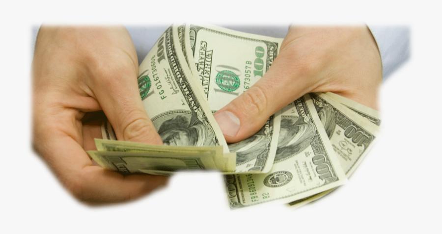 Transparent $100 Bill Clipart - 100 Dollar Bill, Transparent Clipart