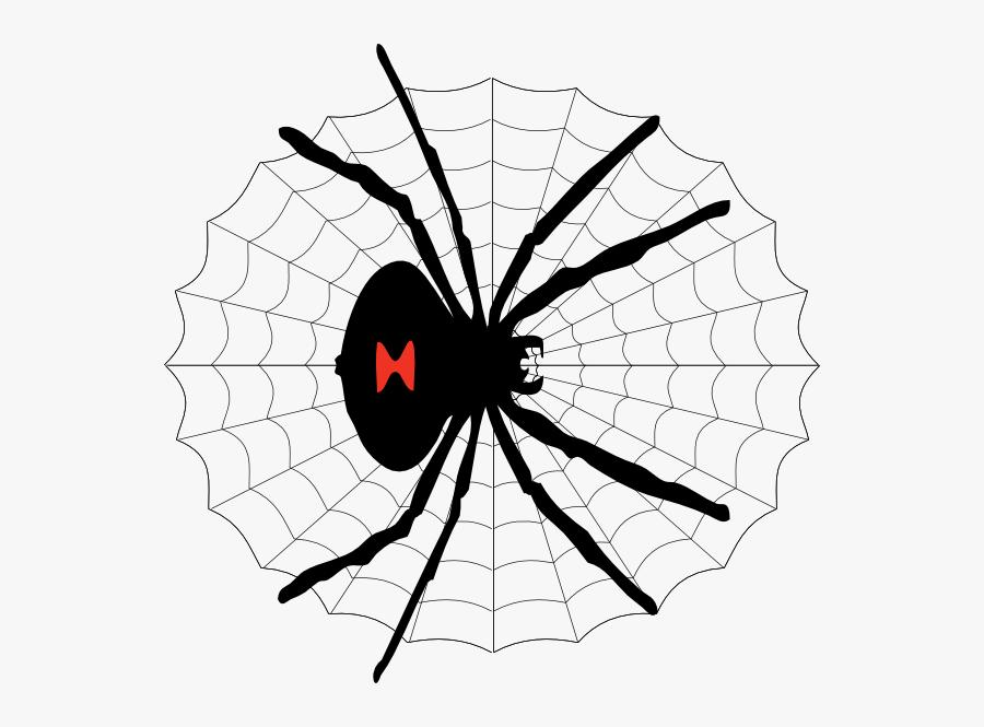 Transparent Black Widow Png Black Widow Spider Cartoon