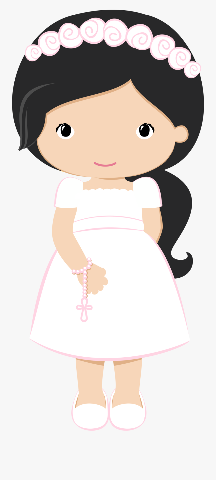 Doll Clipart First Communion - First Communion Girl Clipart, Transparent Clipart