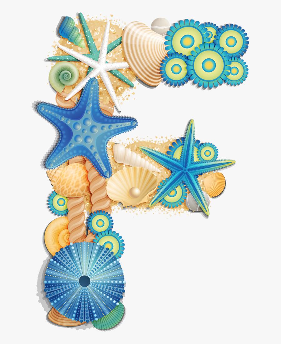 Alpha Blue Png Pinterest Alphabet Letters - Alphabet Sea Shell 3d Png, Transparent Clipart