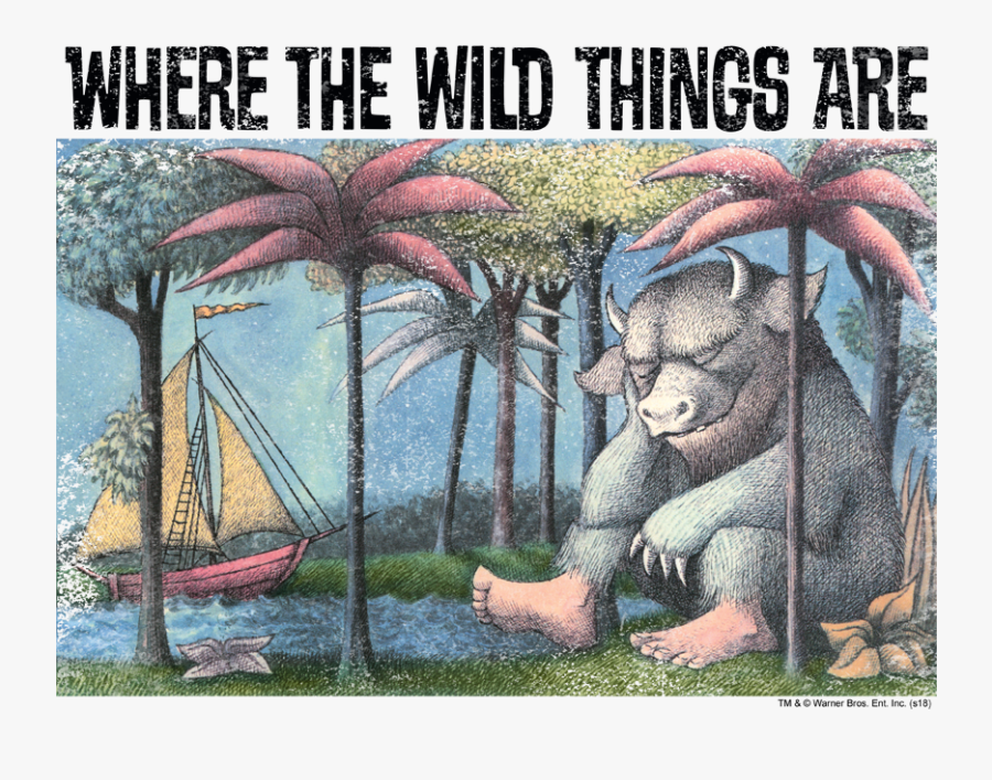 Wild Things Are Cover, Transparent Clipart