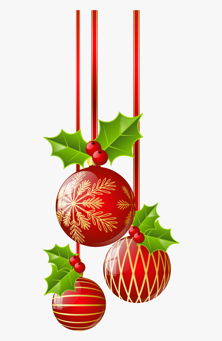 Ornaments ○ Christmas Border, Red Christmas, Red Ornaments, - Free Transparent Christmas Clipart, Transparent Clipart