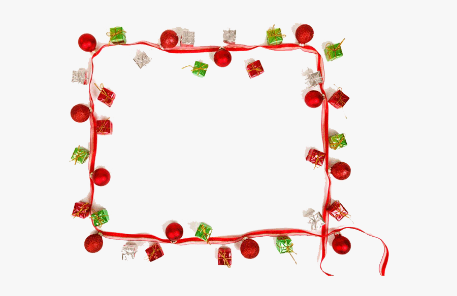 Christmas Border Png 15 Png Christmas Borders For Free - Red Christmas Border Frame, Transparent Clipart
