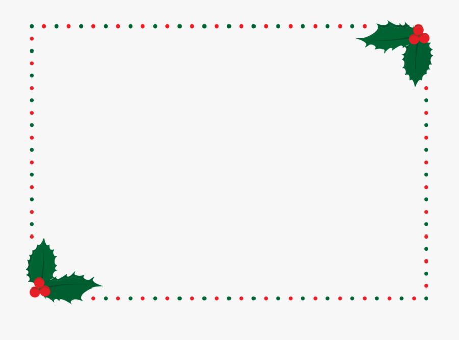 Christmas Frame, Christmas Border, Xmas, Border - Border Christmas Frame, Transparent Clipart