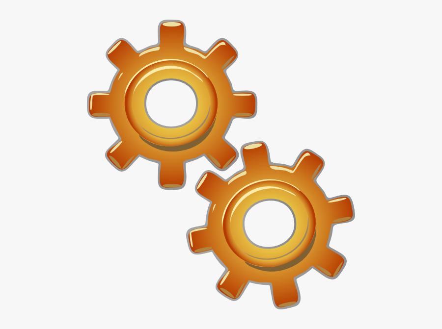 Gears Motion Motor Engine Clip Art Free Vector 4vector - Engines Clipart, Transparent Clipart