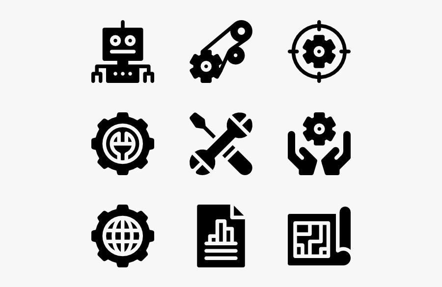 Clip Art Gear Vector Free - Mechanical Engineering Logo Png, Transparent Clipart