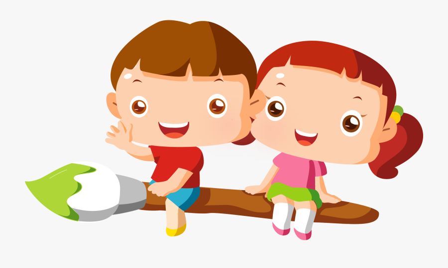 Painting Clipart Child Painting - Kids Drawing Animation, Transparent Clipart