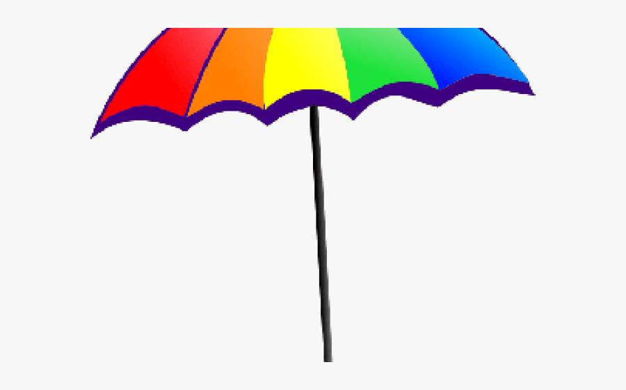 Beach Ball Clipart Beach Parasol - Clipart Colorful Umbrella, Transparent Clipart