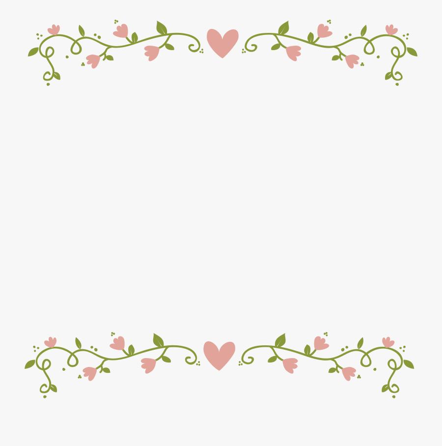 Floral Border Png - Transparent Floral Border Png, Transparent Clipart