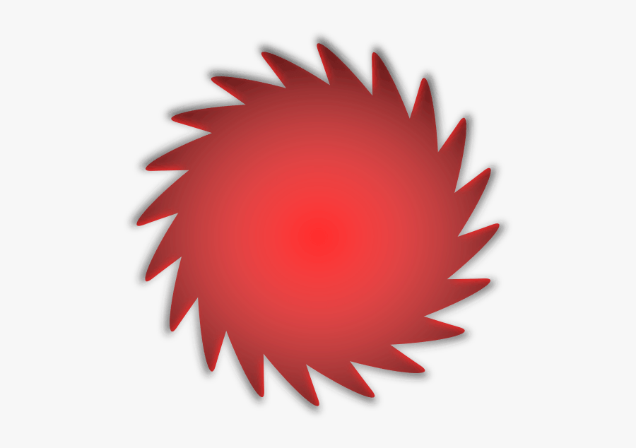Red Shape Vector Png - Vector Round Shape Png, Transparent Clipart