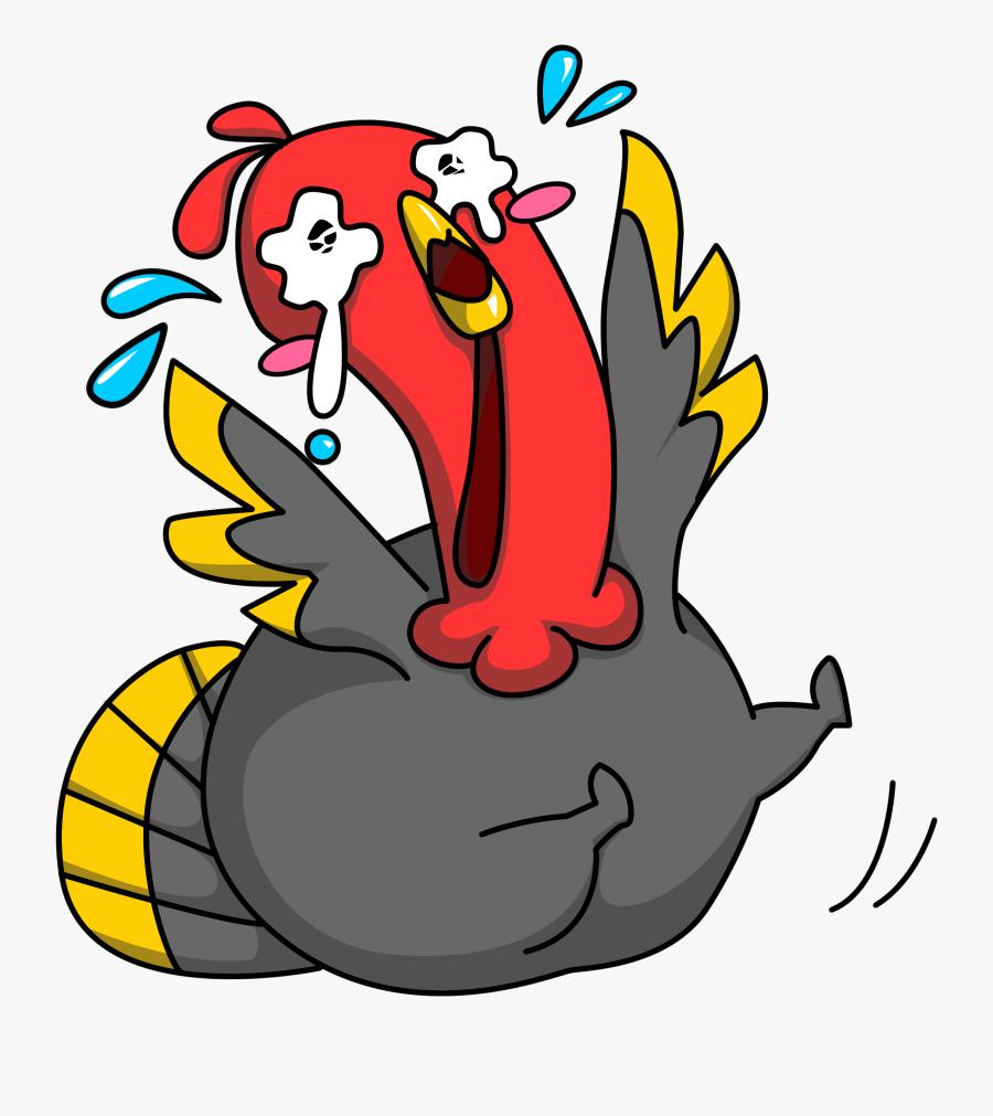 Free Clipart Turkey Sandwich - Clipart Turkey Cartoon Hand, Transparent Clipart
