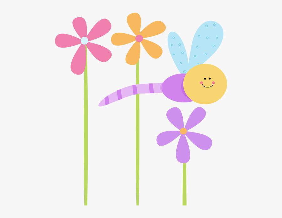 Cute Flower Clip Art, Transparent Clipart