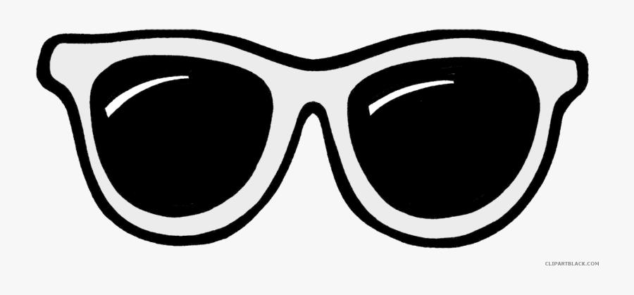 Clip Art Sun Library Techflourish Collections - Sun Glasses Clipart Black And White, Transparent Clipart