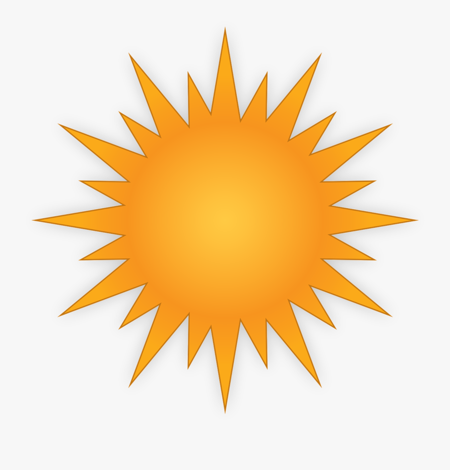 Sun Vector Free 7, Buy Clip Art - Cute Smiling Sun, Transparent Clipart