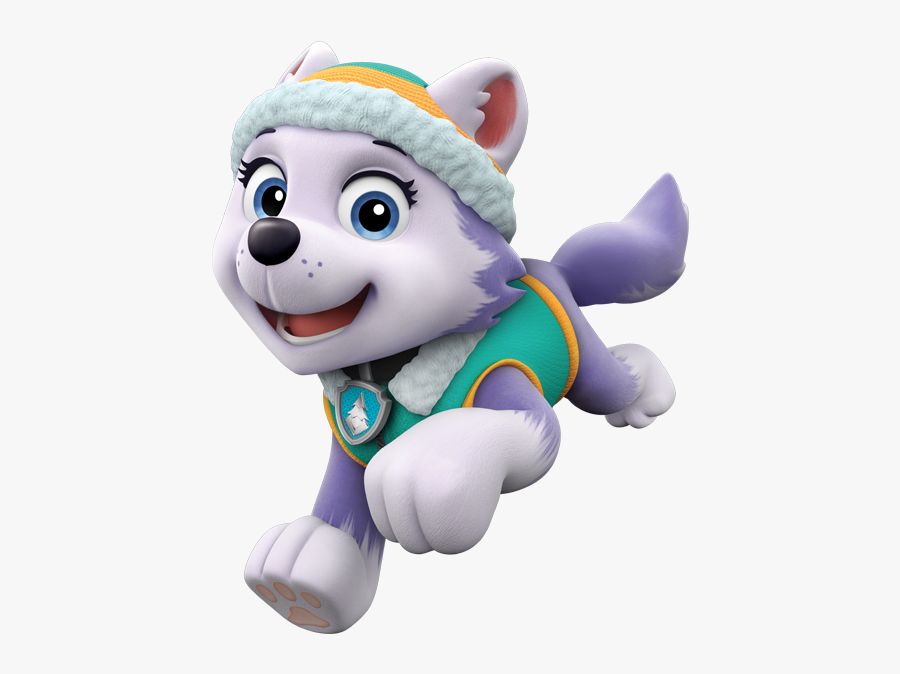 Robo Dog Paw Patrol Clipart - Paw Patrol Everest Png, Transparent Clipart