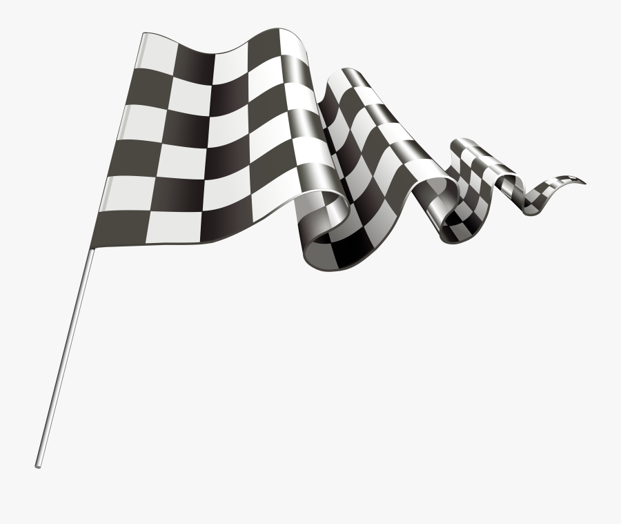 Checkered Flag Png Clipart - Motorsport Checkered Flag, Transparent Clipart
