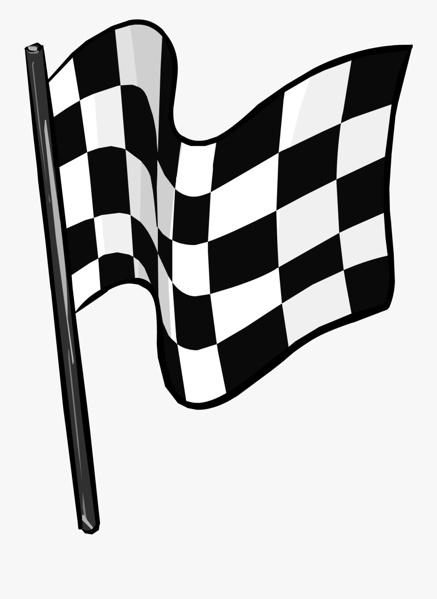 Racing Flag Checkered Flag Clip Art Clipart - Transparent Background Checkered Flag Clipart, Transparent Clipart