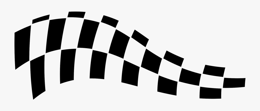 Sports Checkered Flag Png - Race Flag Vector Png, Transparent Clipart