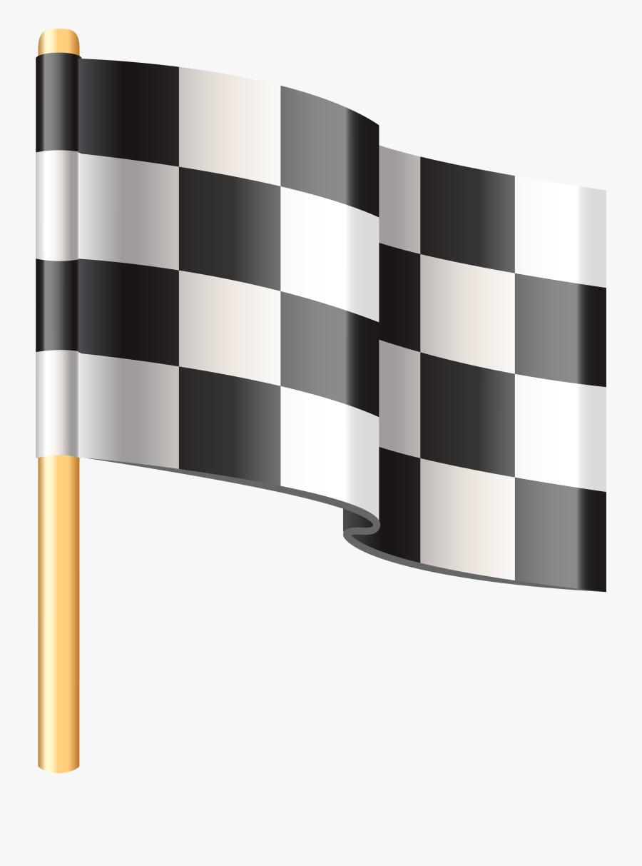 Checkered Flag Png Clip Art - Checkered Flag Emoji, Transparent Clipart