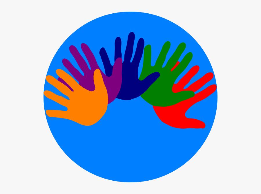 Volunteering Hands - Clip Art Volunteer Hand, Transparent Clipart