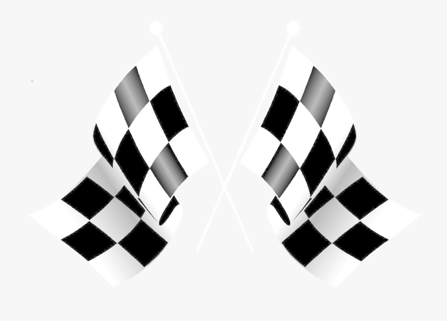 Racing Flags Clip Art - Checkered Flag Happy Birthday, Transparent Clipart