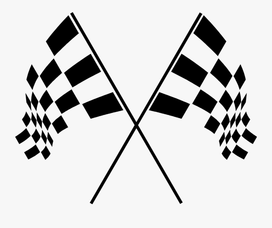 Racing Flags Png - Motor Racing Checkered Flag, Transparent Clipart