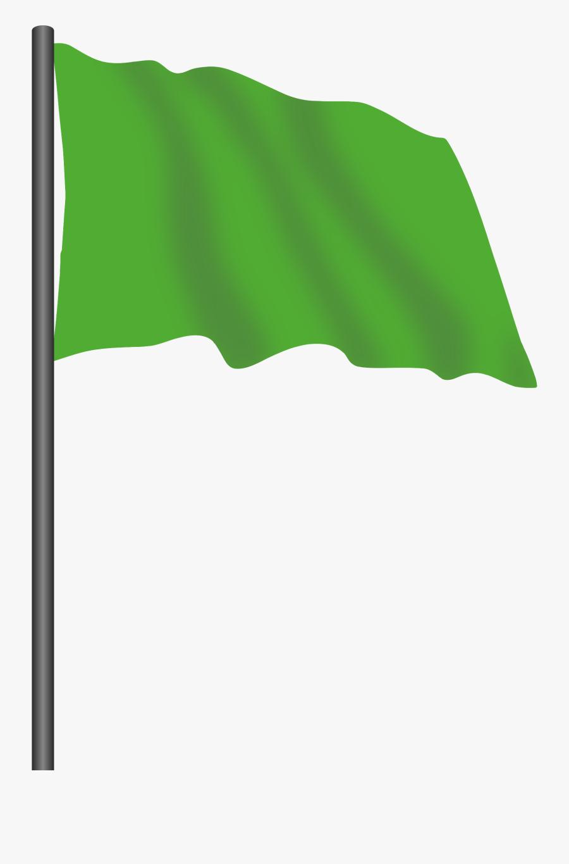 Transparent Barrel Racing Clipart - Green Flag Clipart Png, Transparent Clipart
