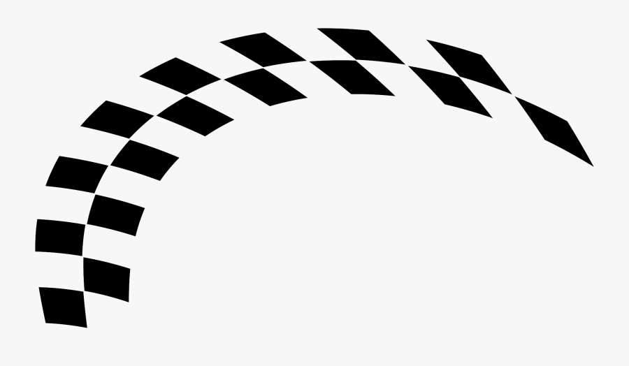 Racing Flag Vector Png - Racing Checkered Flag Png, Transparent Clipart
