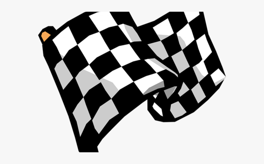 Formula 1 Finish Flag, Transparent Clipart