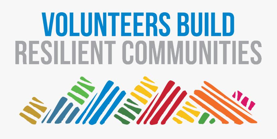 International Volunteer Day 2018, Transparent Clipart