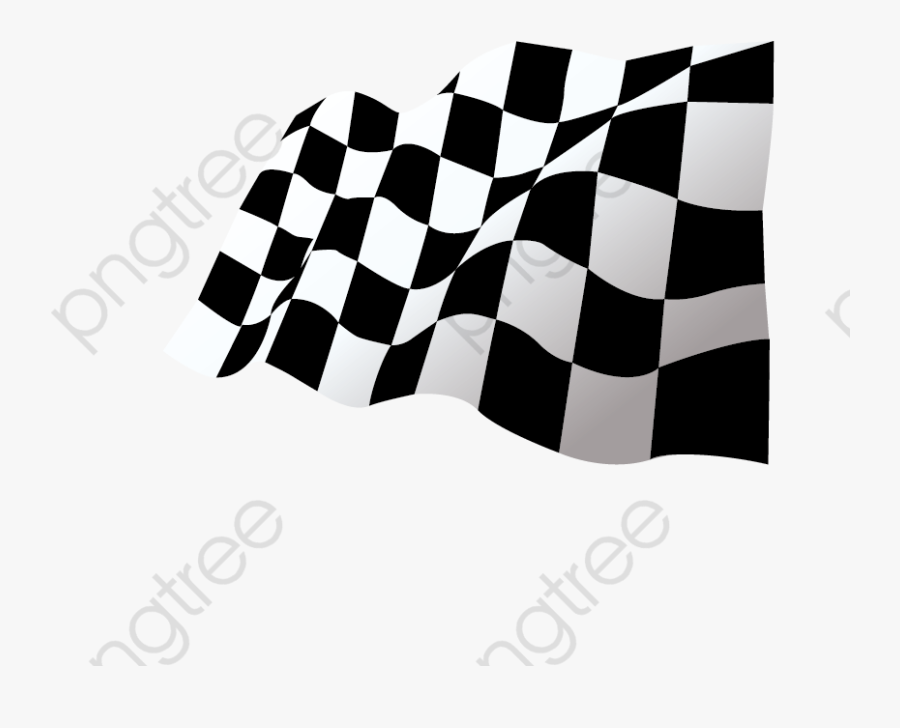 Transparent Checkered Flag Png Format Image With Size - Portable Network Graphics, Transparent Clipart