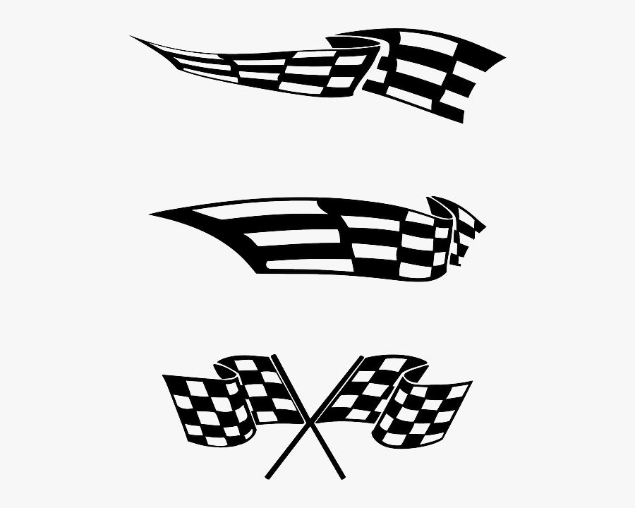 Free Download Racing Flag Clipart Racing Flags Clip - Racing Flags Logos, Transparent Clipart