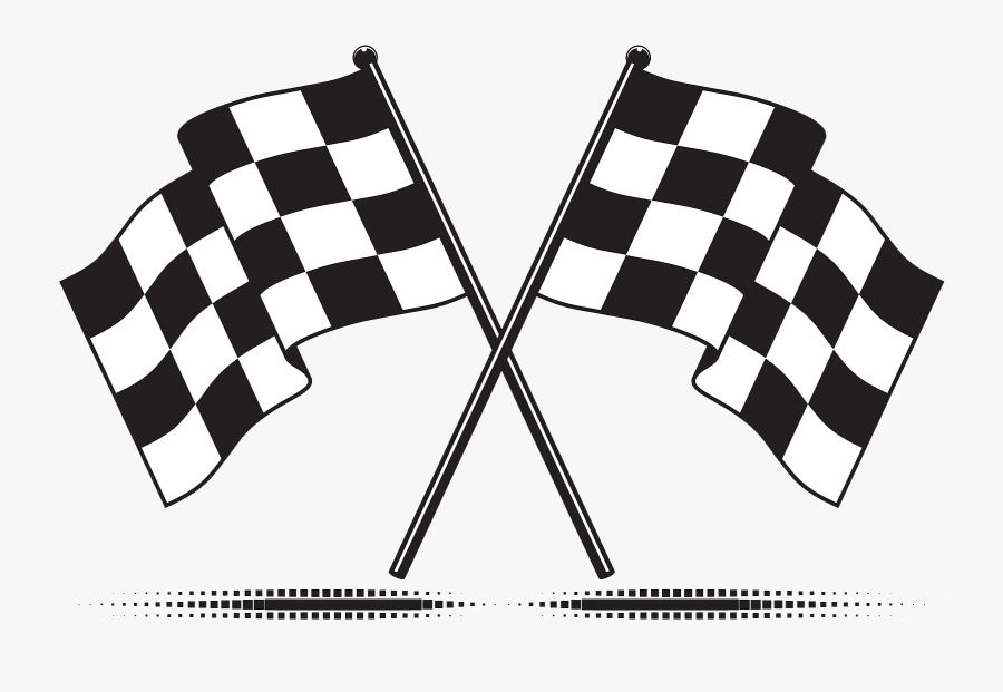 Transparent White Flag Png - Racing Flags Png, Transparent Clipart