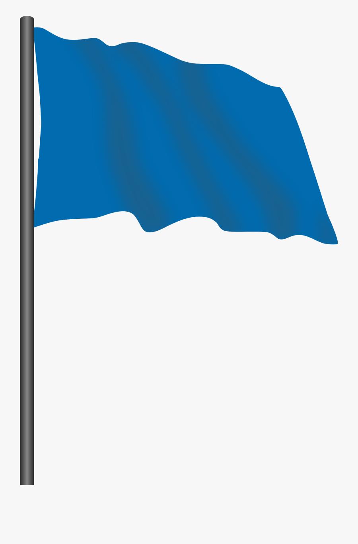 Flags Clipart Blue - Blue Flag Icon Png, Transparent Clipart