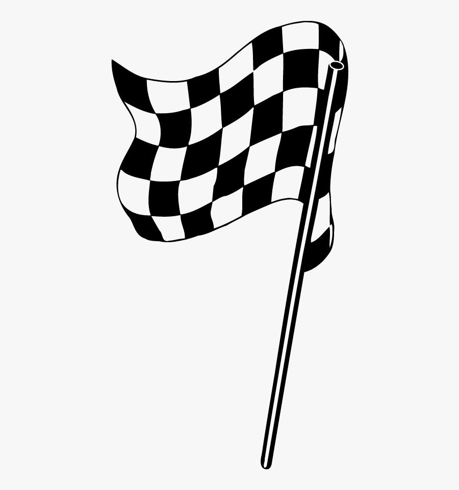 Racing Flags, Transparent Clipart