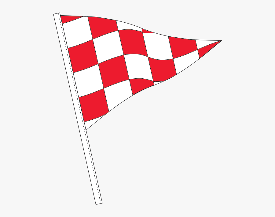 Pennant Clipart Checkered Flag - Flag, Transparent Clipart