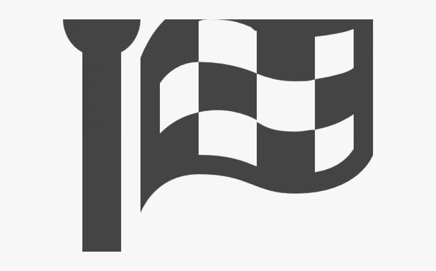 Checkered Flag Icon - Icono Bandera Png, Transparent Clipart