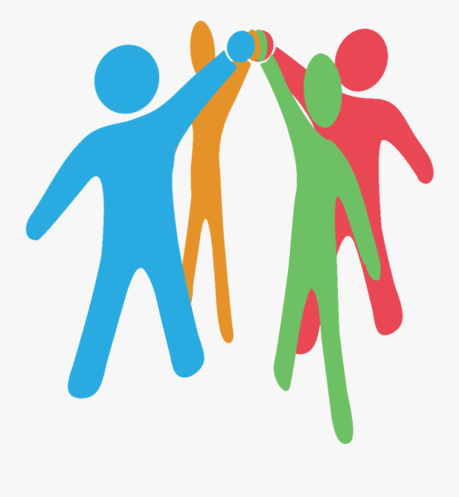 Volunteer Clipart Collaboration - Join Hands Together, Transparent Clipart