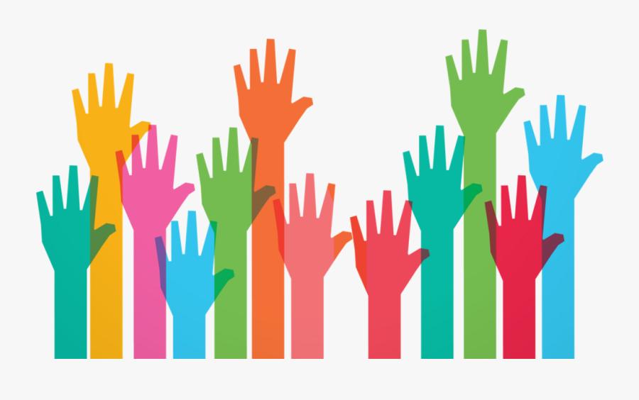 Transparent Hand Wave Clipart - Volunteer Work, Transparent Clipart