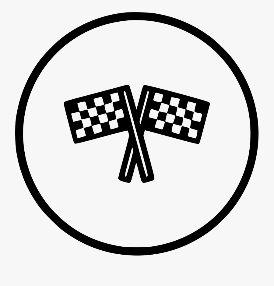 Transparent Race Flags Clipart - Icon Png Race Car Icon, Transparent Clipart