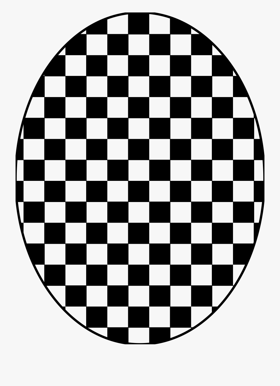 Clipart - Checkered Circle Border Png, Transparent Clipart