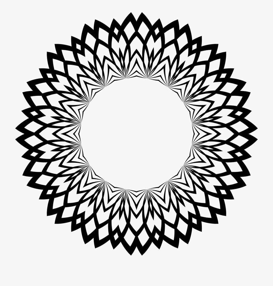 Clipart - Circle With Dots Inside, Transparent Clipart