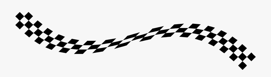 Transparent Checkered Flags Clipart - Race Flag Png, Transparent Clipart