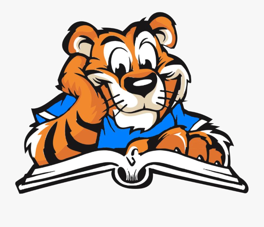 Skyline Elementary School - Elementary School Tiger Mascot, Transparent Clipart