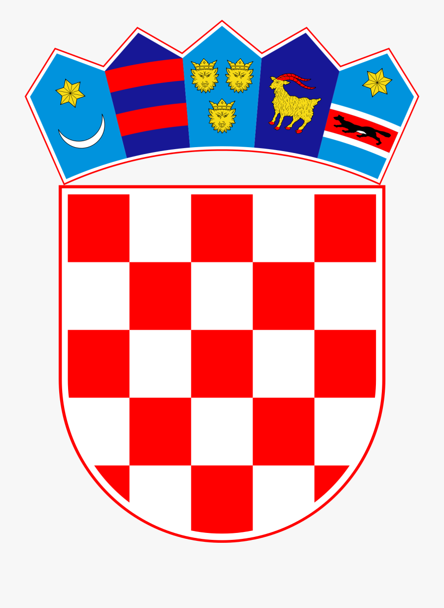 Croatia Flag Symbol, Transparent Clipart