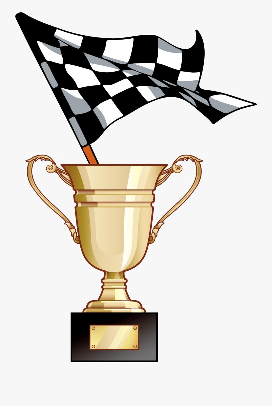 Transparent Racetrack Png - Race Trophy Vector Png, Transparent Clipart