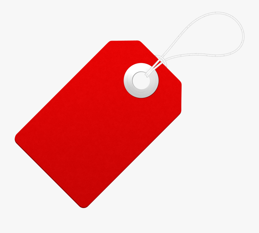 Price Tag Png - Red Price Tag Png, Transparent Clipart