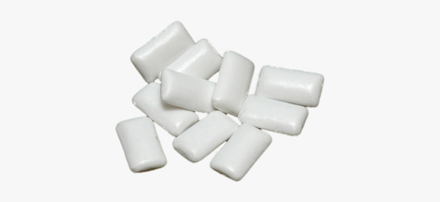 White Chewing Gum - Methyl Salicylate Chewing Gum, Transparent Clipart