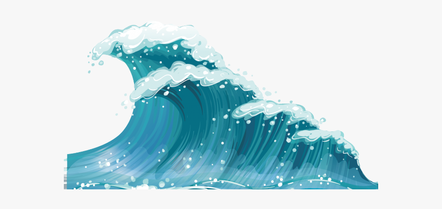 Wave Clipart Wind Wave - Ocean Waves Clipart, Transparent Clipart