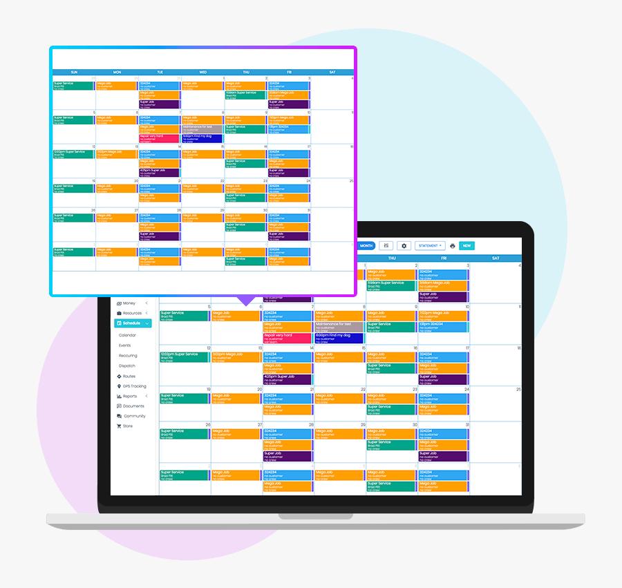 The Best Scheduler & Calendar Software - Small Business Job Scheduling Software, Transparent Clipart